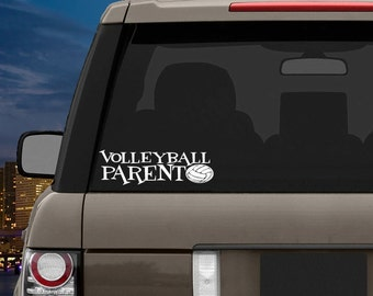 Volleyball Decal- Volleyball Parent