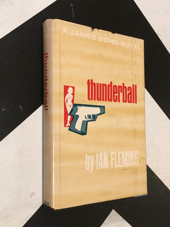 Thunderball by Ian Fleming (Hardcover, 1961) vintage spy thriller novel