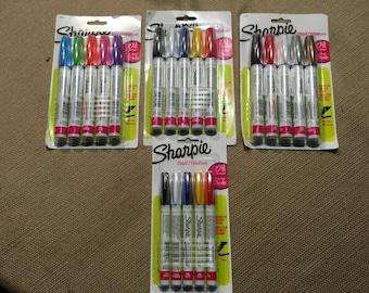 Sharpies - Paint Pens - Oil Base - 4 Packs