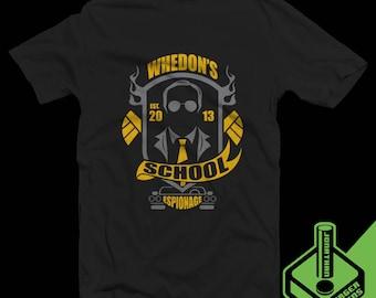 Whedon's School of Espionage T-Shirt