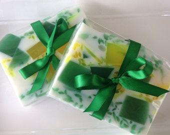 Lemongrass - handcrafted glycerin soap