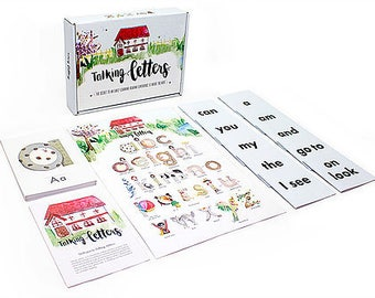 Talking Letters Phonics Reading Program