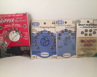 Snap Fasteners, Sewing Notions, Gripper Fasteners, Snap Fasteners, Snap Tool, Clinton Fasteners, Children Snaps, No Sew Snap Fasteners