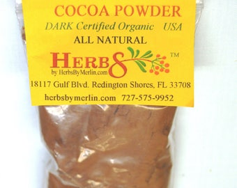 Cocoa Powder.  4.5 ounces