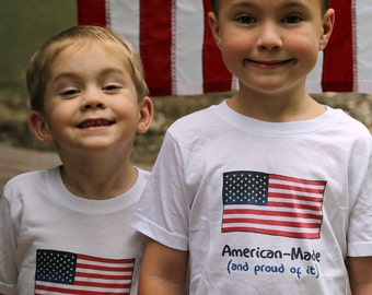 Cute Toddler Clothes, Cute Kids Clothes, Unique Kids Clothes, American Flag, USA, 4th of July kids, Fourth of July, Independence Day