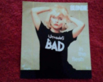 Singer Blondie picture magnet