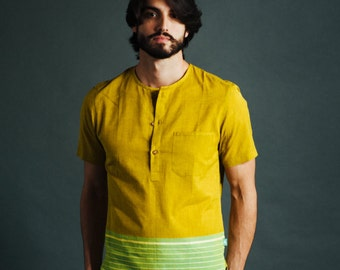 FINAL SALE: Malibagh Men's Popover Shirt / XS - 4XL