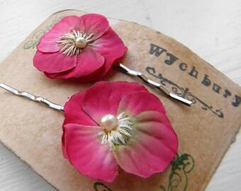 Little Viola Clips - Pink