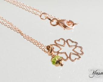 My heart rose gold-plated 925 Silver