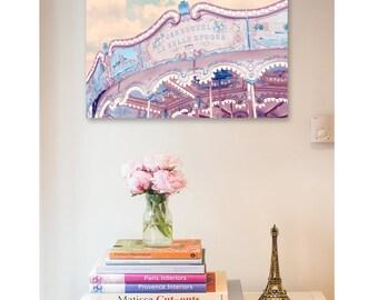 Paris photography  Print - Carousel print, Paris nursery