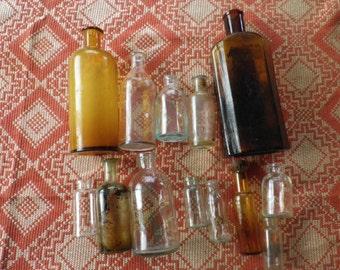 Antique Pharmaceutical Bottles & Jars