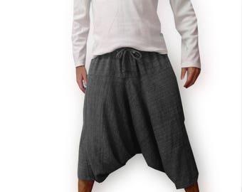 Winter Harem Pants made of sweatshirt. UNISEX, warm sweatpants, baggy trousers, drop crotch pants, maternity pants, sarouel femme, lounge