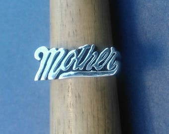 Sterling Silver Mother's Ring