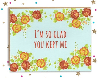 Handmade Card for Mom, Mothers day Card, Funny Greeting Card, Glitter Card, Happy Birthday Mom