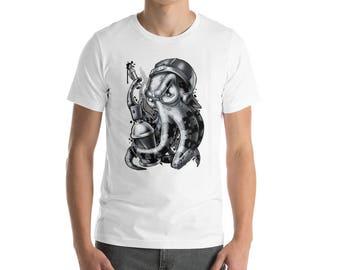 """Mannen """"Bombardementen Squid"""" T-Shirt"""