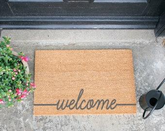 Welcome Scribble Doormat