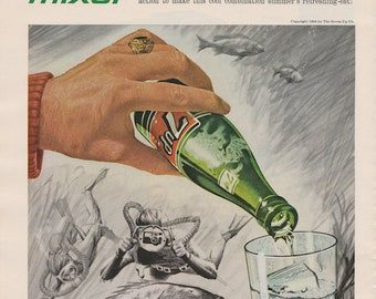 Vintage 7up Ad 1970s