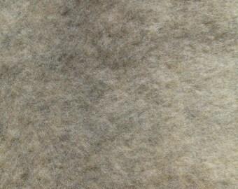 Grey Speckled faux fur destash