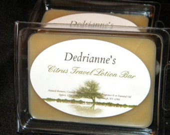 Dedrianne's  Travel Lotion BULK Moisturizing While Leaving a Light Scent Behind