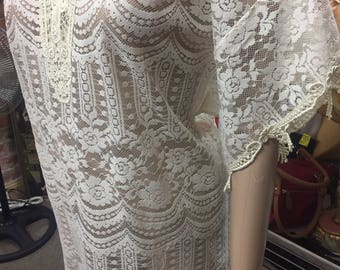 Guipure Lace dress by Anthea Crawford