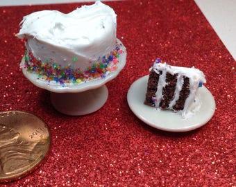 1/12 scale miniature cake