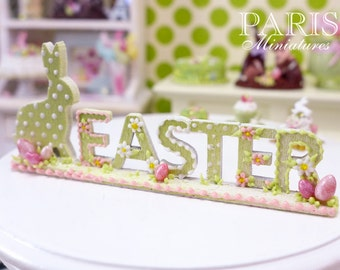 "MTO-Beautiful ""EASTER"" Decoration (made to order) - Miniature Decoration in 12th Scale"