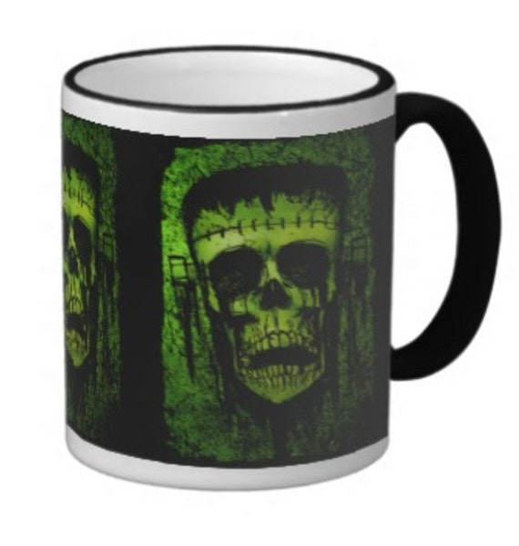 Frankenstein Coffee Cup