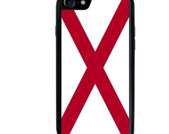 iPhone 5 5s 6 6s 6+ 6s+ SE 7 7+ iPod 5 6 Phone Case, Alabama Flag, AL, State, USA, United States, Plus