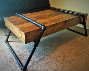 Pipe coffee table