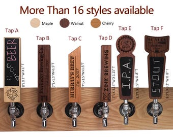 Personalized laser engraved tap handle, beer tap handle, Custom Tap Handle, Microbrew Beer Gifts,Gift for beer lover, beer lover gifts