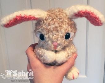 PATTERN Instant Download O-SO-CUTE Pearls the Bunny Easter Crochet Amigurumi Rabbit