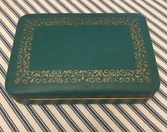 Farrington genuine texol jewelry box Etsy