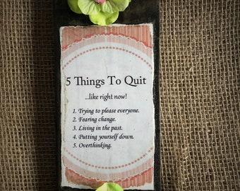 A Unique Little Daily Reminder...........