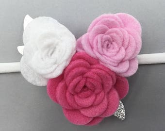 Pink Blush Valentine's Day Headband