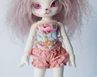 Corset for dolls 20cm Lati Yellow SP, DearMine DP, Zuzu delf.