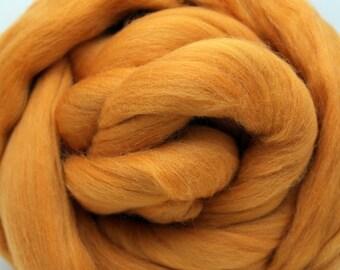 4 oz. Merino Wool Top Citrus