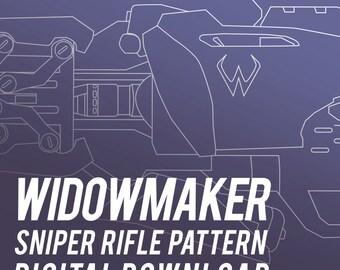 Widowmaker Sniper Rifle Pattern & Tutorial - Widow's Kiss