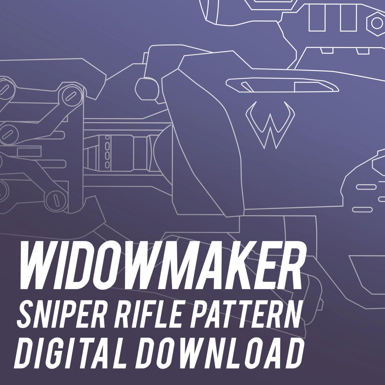 Widowmaker sniper rifle pattern tutorial widows kiss zoom malvernweather Images