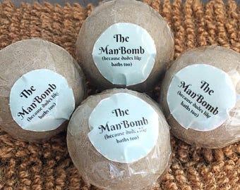 Gifts For Men, Mens Bath Bomb Gift Set, Gift For Him, Gift For Husband, Bath Bombs For Men, Gift For Boyfriend, Birthday Gift For Him,