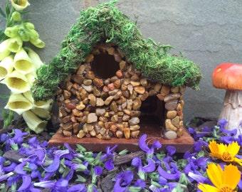 Fairy Garden House, Build your own fairy garden kit, Gnome Home, bird house, wee folk, fairy garden