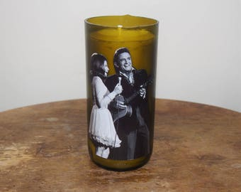 June Carter and Johnny Cash Candle