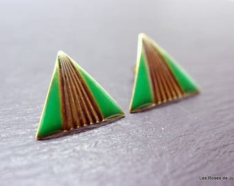 Earrings art deco earrings, Berenice