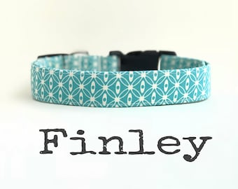 Unisex Dog Collar, DOG COLLARS, The Finley, Dog Collar, Boy Dog Collar, Dog Collars for Boys, Girl Dog Collar