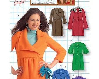 Sz 12/14/16/18 - McCall's Jacket Pattern M5714 by DIY STYLE - Misses' Unlined Jackets and Coats - McCall's Pattern