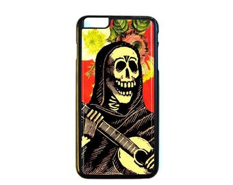 iPhone Case Choose Your Case Size Skeleton Man #D318