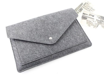 Felt Gift 12 inch Macbook sleeve, New Macbook 12 case, 2017 Macbook 12  sleeve, macbook sleeve, macbook air case, laptop case 110DG