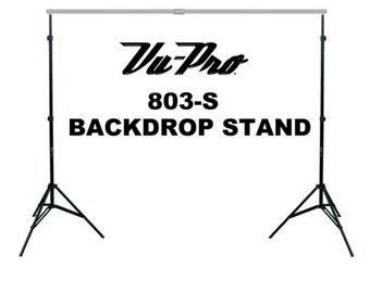 Vu-Pro 803-S Economy Backdrop Stand-Quilt Rack Photography Equipment