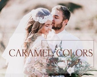 25 Caramel colors Lightroom presets