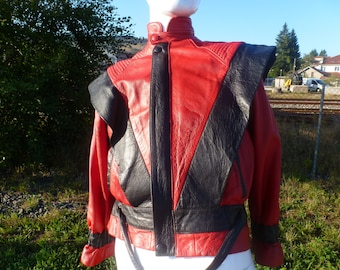 jacket mythical real leather genuine Micheal jackson thriller