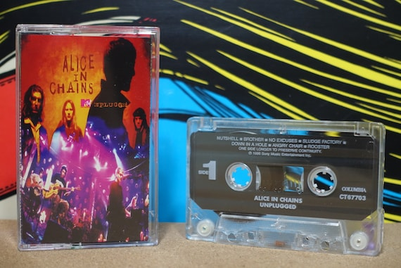 MTV Unplugged by Alice In Chains Vintage Cassette Tape
